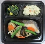 白身魚と根菜