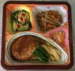 マヨ照り豆腐ハンバーグ