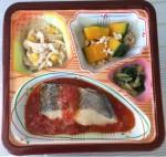 白身魚のトマトソース