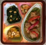 チキンと彩り野菜の香味あんかけjpg