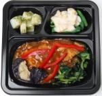 パル 緑黄色野菜と白身魚の香味そぼろあんかけセット 02.14改良